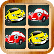 Car memory games pictures for kids and adults