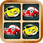Car memory games pictures for kids and adults Icon