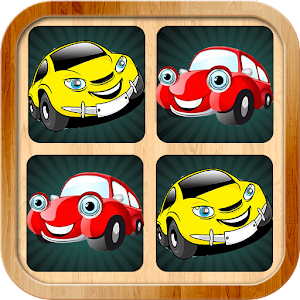 kids car memory games pictures for PC and MAC