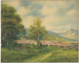 """Photo: This is a vintage litho- (guessing 1960's) 10"""" x 8""""it is a bit faded but not too bad"""
