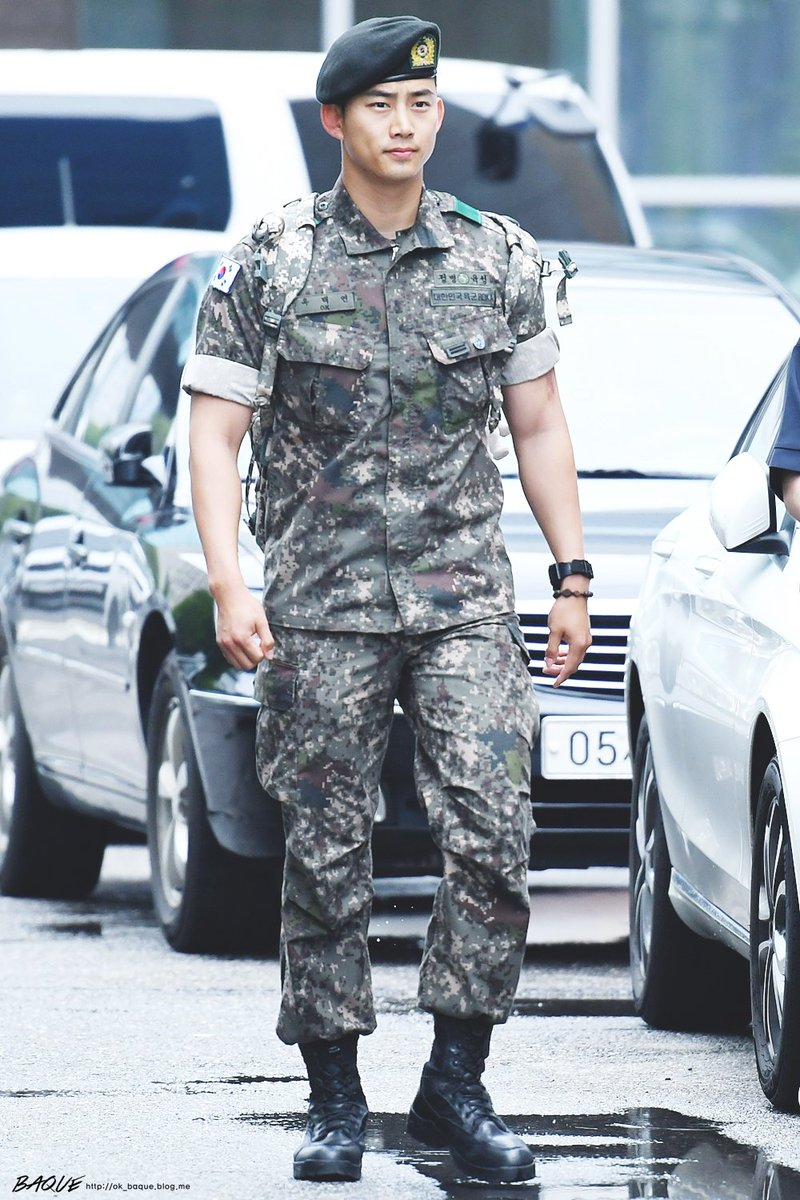 Recent Photos Of 2PM Taecyeon In Army Show His Drastic