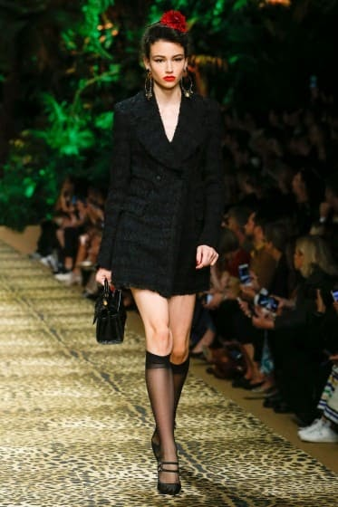 Tendance printemps été : Défilé Dolce & Gabbana printemps été 2020
