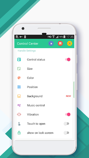 Control Center--iOS 12(iPhone XSmax&Android Panel) for PC