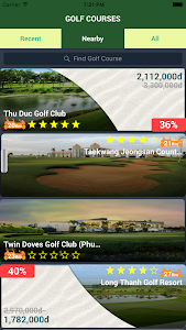 GolfConnect24 - golf booking screenshot 0