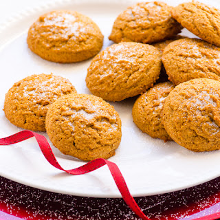 Healthy Gingersnap Cookies