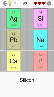 Chemical elements and periodic table symbols quiz apps on google play screenshot image urtaz Images