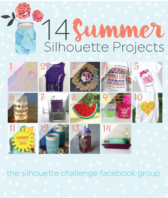 14 Summer Silhouette Projects! | Where The Smiles Have Been