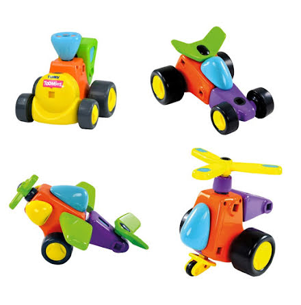 Tomy Constructables Vehicles