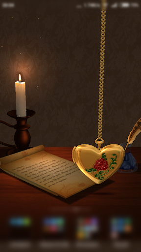 3D Love Locket Live WallPaper