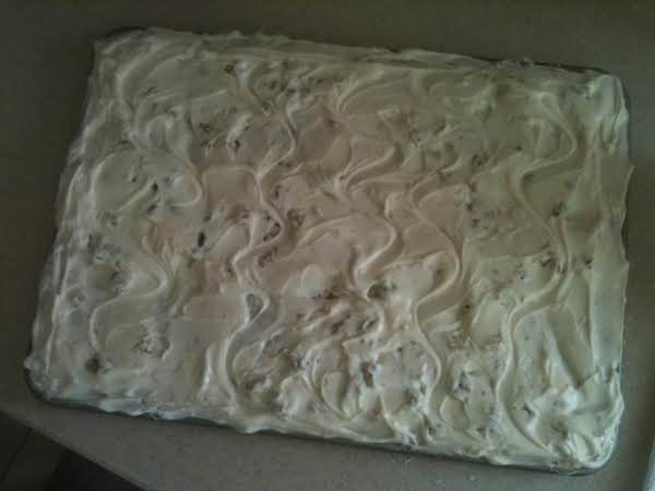 Italian Cream Sheet Cake Recipe