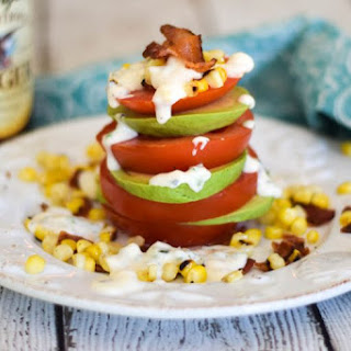 Tomato Avocado Salad Stack.
