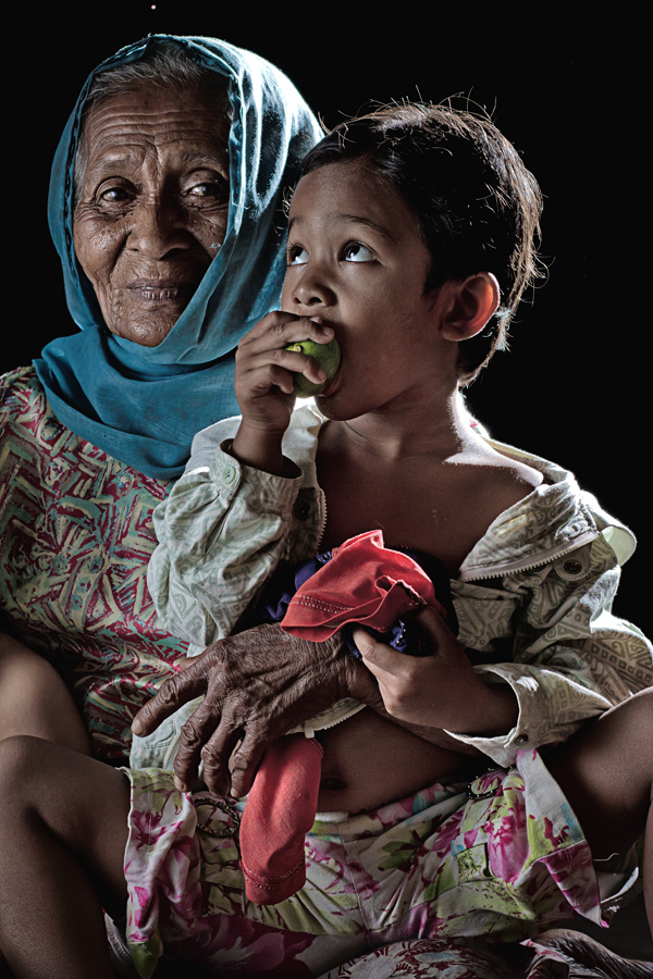 by Asmady Ahmad - People Family ( mom and 'kid', senior citizen )
