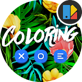 Coloring Blue | Xperia Theme