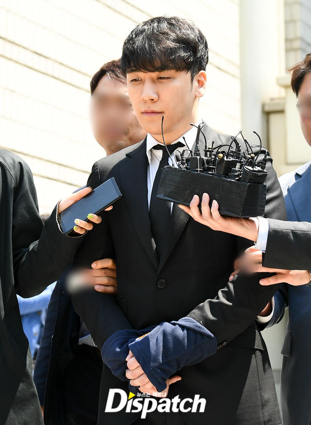 seungri arrest