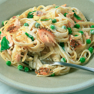 Salmon Pasta Recipes.