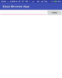 Eazy Browse App - náhled