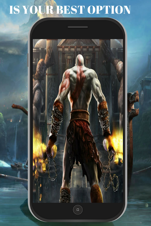 Descargar God Of War Wallpaper Hd Kratos 4k Live Apk última