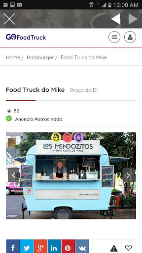 GoFoodTruck - Guia de Food Trucks for PC