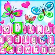 Cute Butterfly Emoji Keyboard