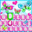 Cute Butterfly Emoji Keyboard APK