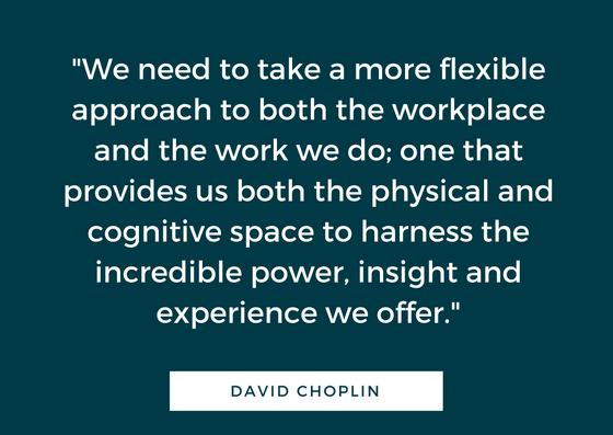 david choplin quote work remotely