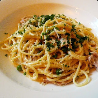 My Mother'S Spaghetti with Peas Recipe