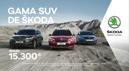 Llévate en Saveauto la gama SUV de Skoda desde 15.300 euros