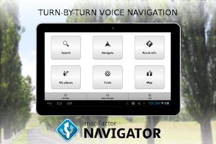 MapFactor GPS Navigation Maps - screenshot thumbnail 10