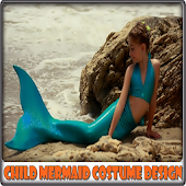 Child Mermaid Costume Design