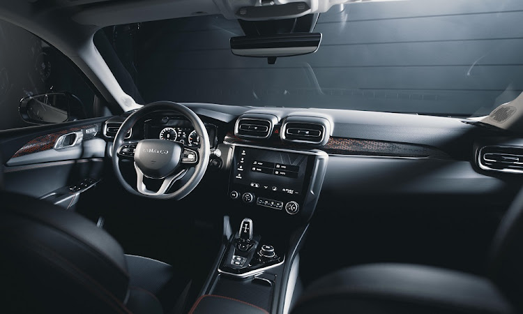 The interior of the Hyper version has all the tech and good quality too. Picture: LYNK & CO