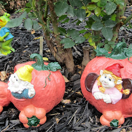 Pumpkin carriage by Maricor Bayotas-Brizzi - Artistic Objects Other Objects (  )