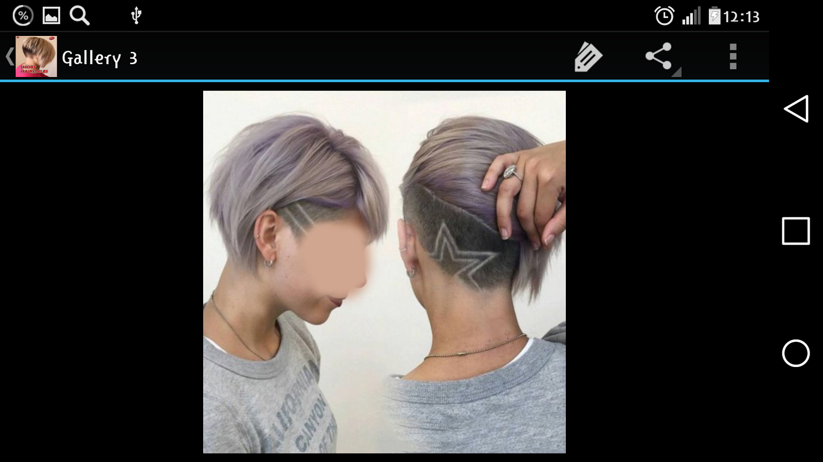 Short Hairstyles - Android Apps on Google Play