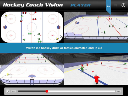 Hockey Coach Vision Player