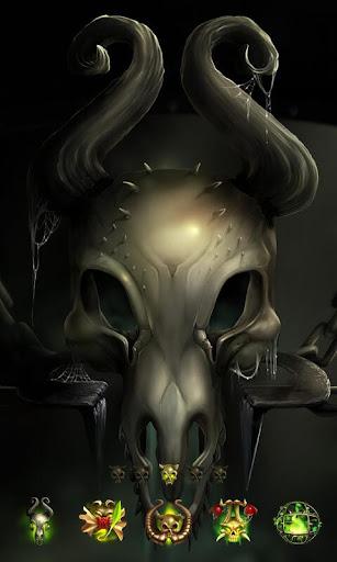 Skull GO Launcher