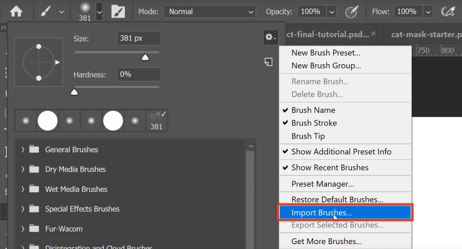 Free High-Quality Photoshop Brushes
