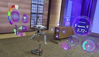 Microsoft hololens op robot