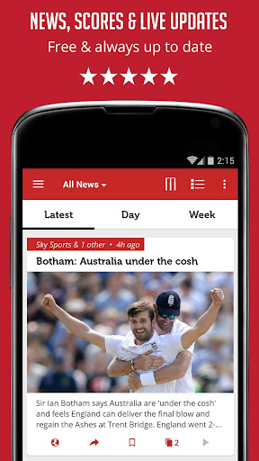Cricket News and Scores