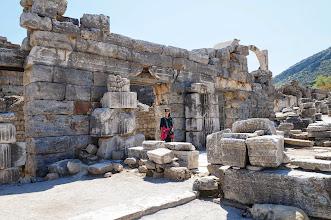 Photo: Sarjita at the Ephesus hospital