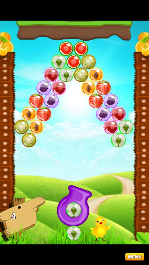 Bubble Shooter Fruits Legend- screenshot