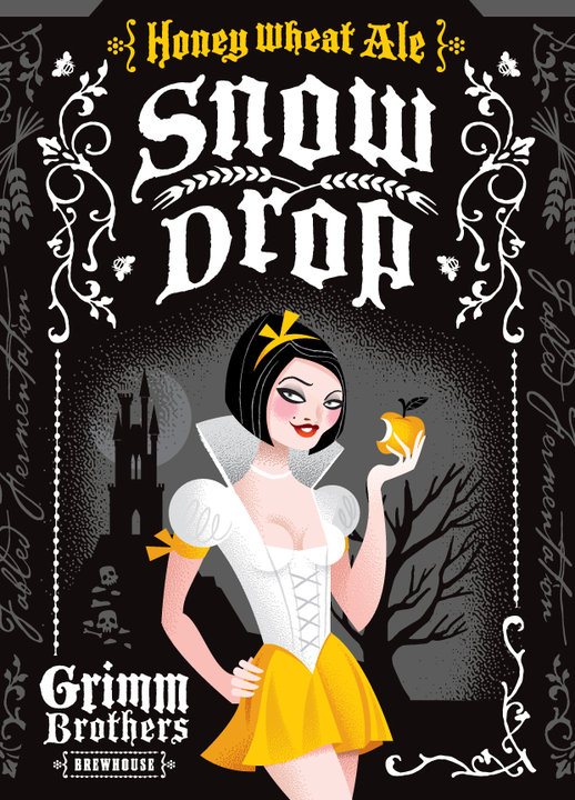 Logo of Grimm Brothers Snow Drop