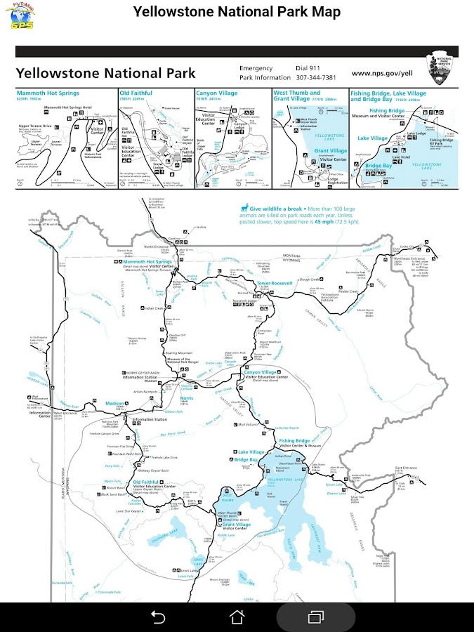 Yellowstone national park gps map navigator android apps on google yellowstone national park gps map navigator screenshot publicscrutiny Image collections