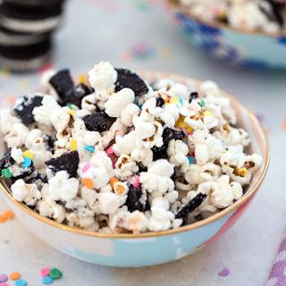 Oreo Funfetti Popcorn.