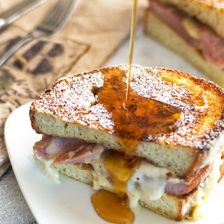 French Toast Croque Monsieur