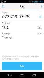 Swish payments Screenshot 3