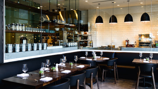 Restaurant Kitchen View what to eat at outlook kitchen and bar, now open in the seaport