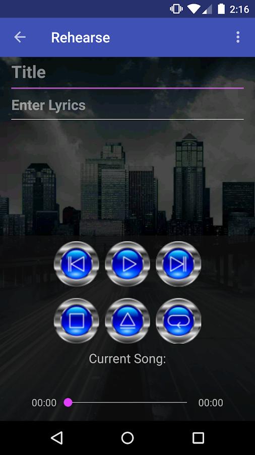 RoadWriter for Songwriting- screenshot