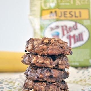 Muesli Breakfast Cookies.