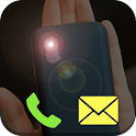 Flash Alerts on Call – SMS icon