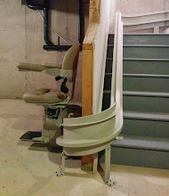 Photo: Stairlift Company Mobility123 NJ