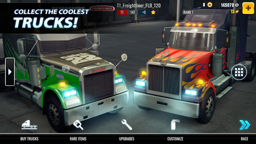 Big Truck Drag Racing screenshot 4